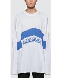 Napapijri - Siri L/s T-shirt - Lyst