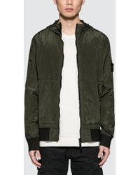 Stone Island - Nylon Metal Watro Hooded Jacket - Lyst