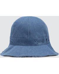SJYP - Denim Cutting Edge Hat - Lyst