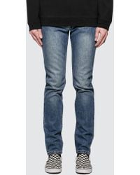 A.P.C. - Petit New Standard Jeans With Contrast Waistband - Lyst