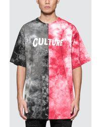 YRN - Culture Half/half S/s T-shirt - Lyst