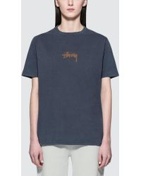 Stussy - Stock Pig. Dyed Tee - Lyst