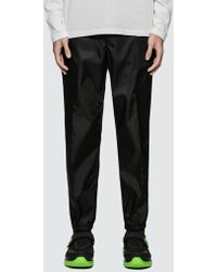 Prada - Nylon Trousers - Lyst