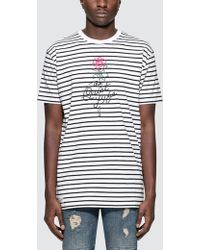 The Quiet Life - Stripe Rose S/s T-shirt - Lyst