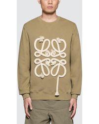 Loewe - Exclusive Anagram Rope Sweatshirt - Lyst