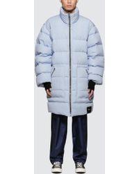 3.1 Phillip Lim - Reversible Oversized Striped Poplin Down Jacket - Lyst