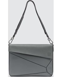 Loewe Gray Puzzle Messenger Bag