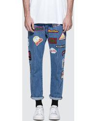 Gcds - 5 Pocket Patch Jeans - Lyst