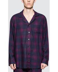 Calvin Klein - Flannel Sleeping Trousers - Lyst