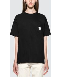 Carhartt WIP - W' Carrie Pocket Short Sleeve T-shirt - Lyst