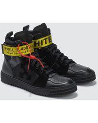 Off-White c/o Virgil Abloh - Industrial Belt Hi Top Sneaker - Lyst
