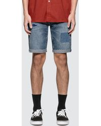 Levi's - Furor 511 Slim Cutoff Denim Shorts - Lyst
