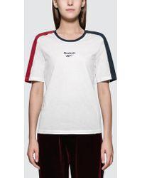 Reebok - China Graphic Short Sleeve T-shirt - Lyst