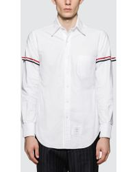 Thom Browne - Classic L/s Button Down Point Collar Shirt - Lyst