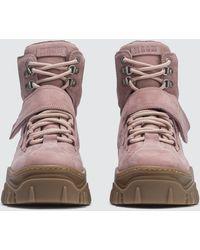 MSGM - Ridged Sole Boots - Lyst