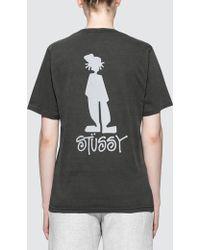 Stussy - Raggamon Pig. Dyed S/s T-shirt - Lyst
