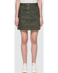 A.P.C. - Adele Mini Skirt - Lyst