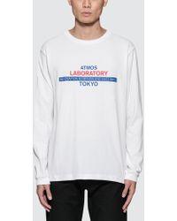 Atmos Lab | Laboratory L/s T-shirt | Lyst