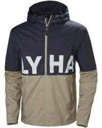 5980f2f85351 Helly Hansen Amaze Jacket in Blue for Men - Lyst