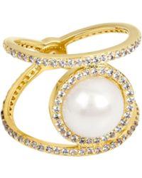 Henri Bendel - Cosmic Pearl Ring - Lyst
