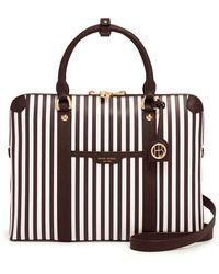 Henri Bendel - Centennial Stripe Briefcase - Lyst