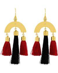 Henri Bendel - Luxe Link Tassel Earring - Lyst