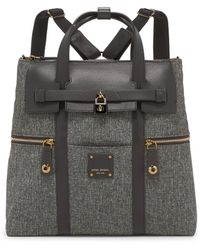 Henri Bendel - Jetsetter Convertible Canvas Backpack - Lyst