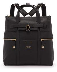 Henri Bendel - Jetsetter Convertible Leather Backpack - Lyst