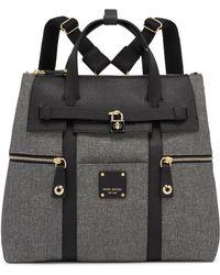Henri Bendel - Jetsetter Convertible Straw Backpack - Lyst