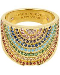 Henri Bendel - Rainbow Ring - Lyst