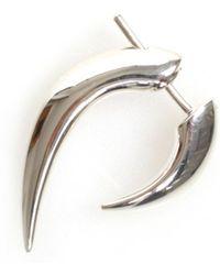 Shaun Leane - Single Talon Earring Silver - Lyst