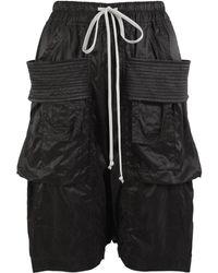 Rick Owens Drkshdw Creatch Cargo Pods Shorts
