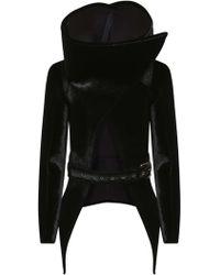 Gareth Pugh - Funnel Neck Triangle Jacket - Lyst