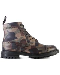 Junya Watanabe - Wc-k107-s19 Junya X Trickers Khaki Shoes - Lyst