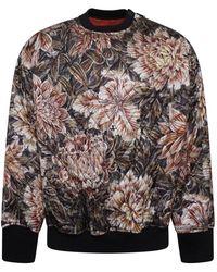 cb5b989429c Y-3 Y-3 X James Harden Floral Print Sweatshirt in Black for Men - Lyst