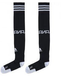 Gosha Rubchinskiy - Adidas Climalite Logo Socks Black - Lyst