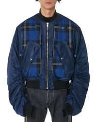Kidill - Cut-out Bomber Jacket - Lyst