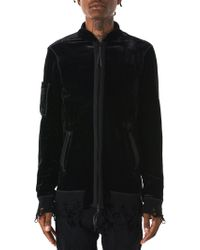 Di Liborio - Distressed Velvet Jacket - Lyst