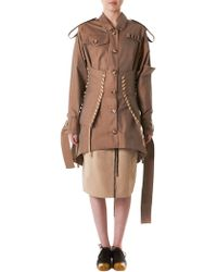 Anne Sofie Madsen - Paratrooper Laced Coat - Lyst
