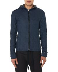 Ma+ - Hand-cut Hooded Jacket - Lyst
