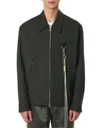 Song For The Mute - 'stack' Oversized Coach Jacket - Lyst