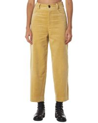 Hyein Seo - Cropped Corduroy Trousers - Lyst