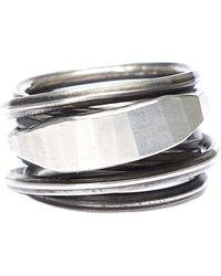 Werkstatt:münchen - Spiral Wound Ring - Lyst
