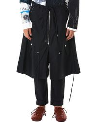 Kidill - Double Layer Utility Trousers - Lyst