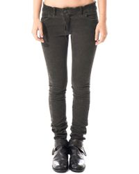 Boris Bidjan Saberi - Fitted Denim Jeans - Lyst