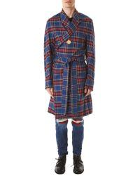 99% Is - 'pendant' Flannel Coat - Lyst