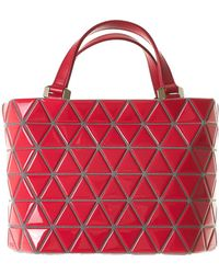 Issey Miyake - Structured Tote Bag - Lyst