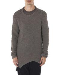 Daniel Andresen - 'dreesden' Asymmetric Knit Sweater - Lyst