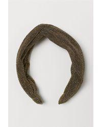 H&M - Glittery Hairband - Lyst