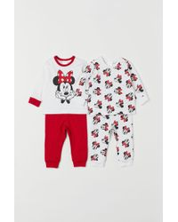 H&M - 2-pack Jersey Pyjamas - Lyst